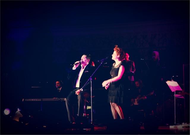 A duet with Darren Percival
